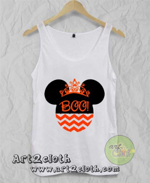 Halloween Disney Minnie Mouse Unisex Adult Tank Top