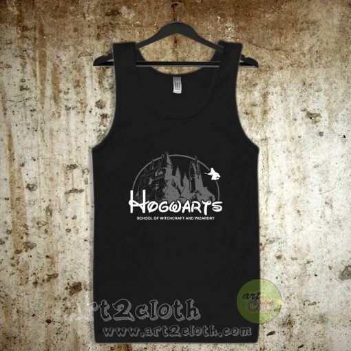 Hogwarts School of Witchcraft and Wizardry Unisex Adult Tank Top