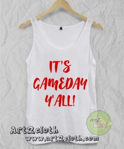 It's Gameday Y'all Unisex Adult Tank Top