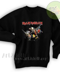 Iron Maiden The Trooper Unisex Sweatshirts