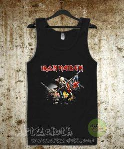 Iron Maiden The Trooper Unisex Adult Tank Top