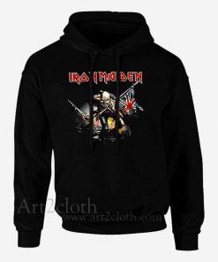 Iron Maiden The Trooper Unisex Hoodie