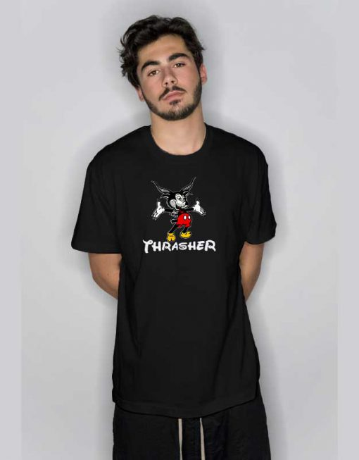 Thrasher Magazine Mouse Goat T Shirt