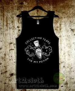Collecting Tears For My Potion Unisex Adult Tank Top
