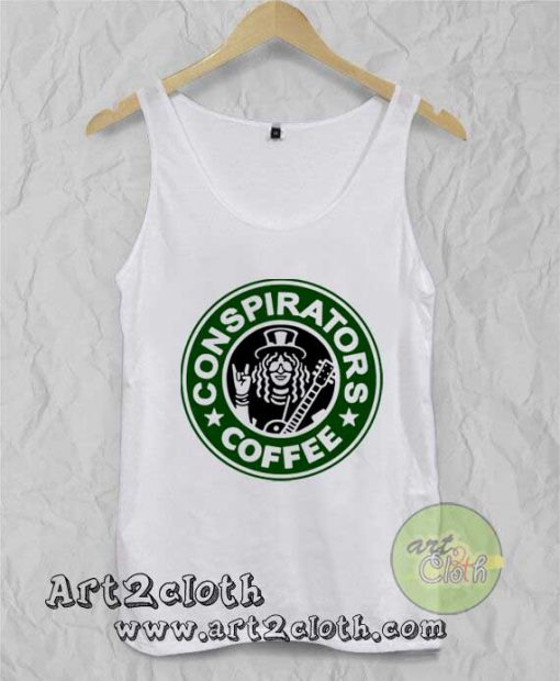 Conspirators Coffee Unisex Adult Tank Top