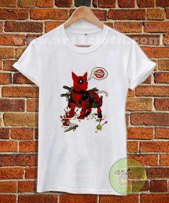 Deadpool Terrier T Shirt