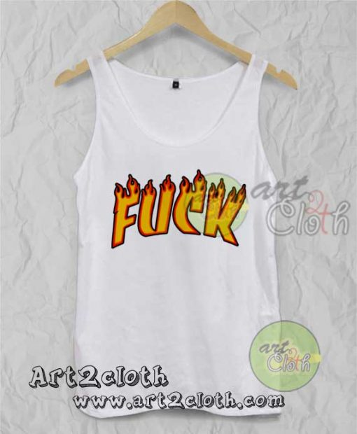 Fuck Thrasher Unisex Adult Tank Top