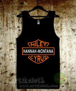 Hannah Montana Miley Cyrus Unisex Adult Tank Top