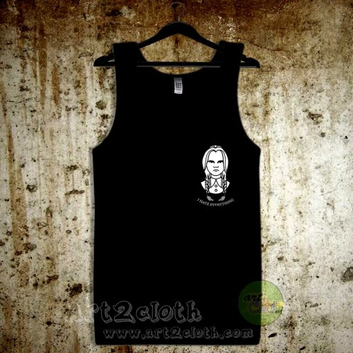 I Hate Everything Unisex Adult Tank Top