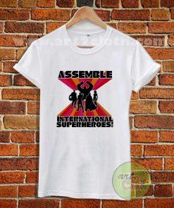 International Superheroes T Shirt