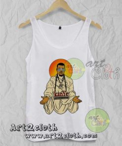 Keny West Yeezus Unisex Adult Tank Top