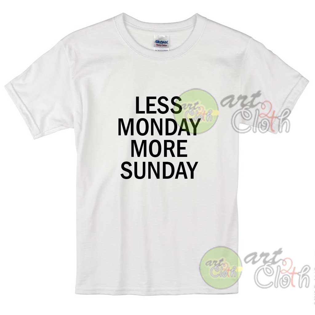 Kids clothes less monday more sunday cheap custom t for Personalized t shirts for kids cheap