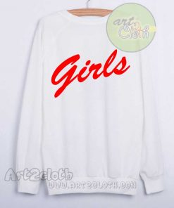 A Girls Red Unisex Sweatshirts