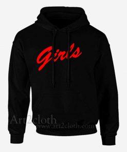 A Girls Red Unisex Hoodie