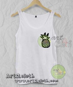 Pineaple Unisex Adult Tank Top