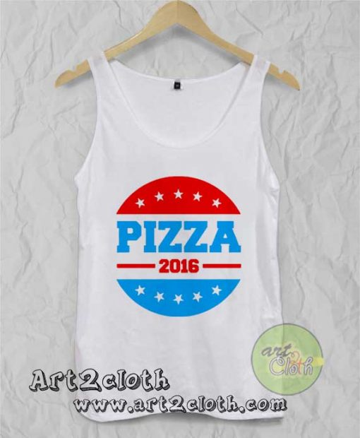 Pizza 2016 Unisex Adult Tank Top