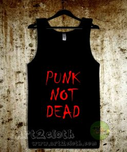 Punk Not Dead Unisex Adult Tank Top