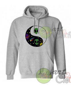 Alien Yin Yang Space Unisex Hoodie