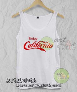 Enjoy California Unisex Adult Tank Top