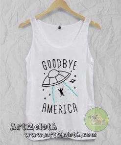 Goodbye America Unisex Adult Tank Top
