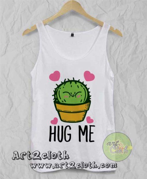 Hug Me Cactus Unisex Adult Tank Top
