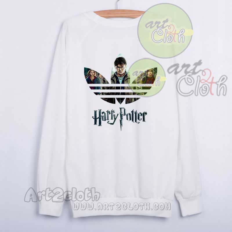 Funny harry potter adidas inspired sweatshirts cheap for Custom shirts and hoodies cheap