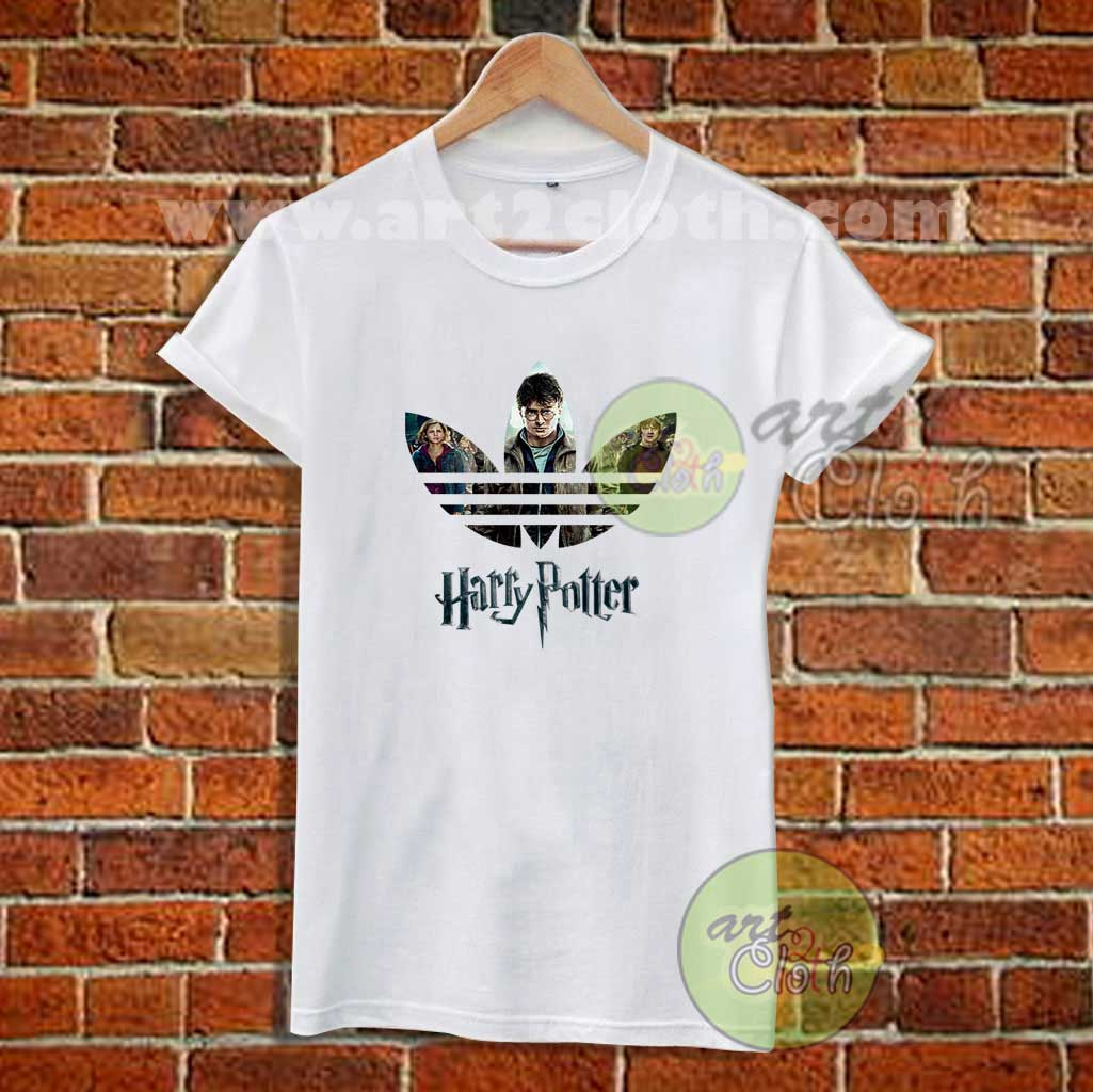 funny harry potter adidas inspired t shirt