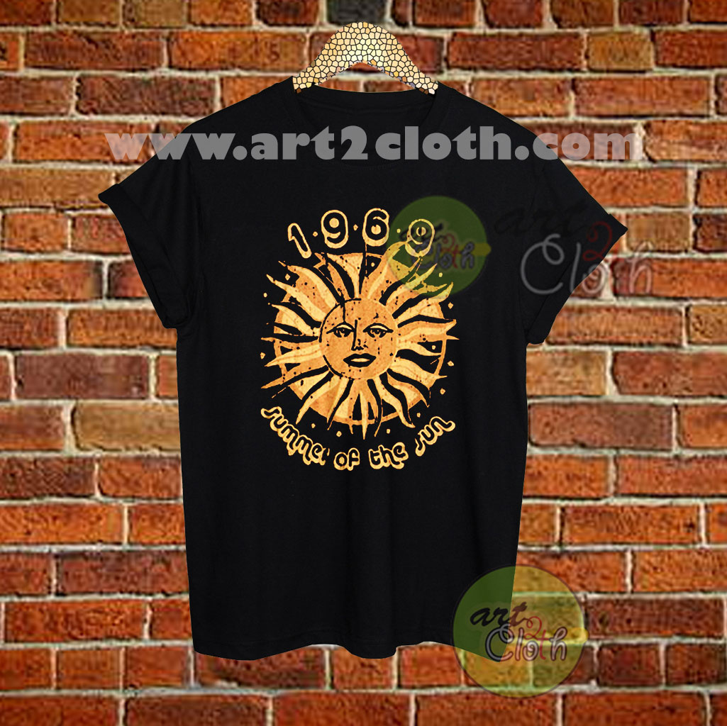 166eb7b4fe0a 1969 Summer Of The Sun T Shirt Size XS