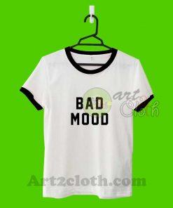 Bad Mood Unisex Ringer T Shirt