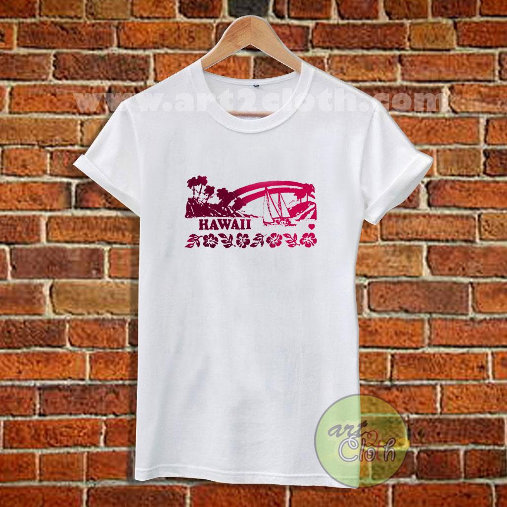 a8b1f6b5 Brandy Melville HAWAII T Shirt | Cheap Custom T Shirts - Art2cloth.com