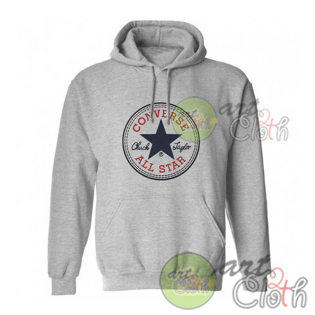 0c83fefb796c Converse All Star Logo Hoodie Size S