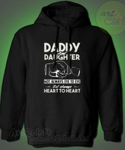 Daddy And Daughter Not Always Eye To Eye Hoodie