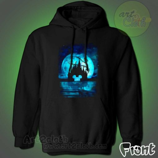 Disney Back Moon in The Night Hoodie