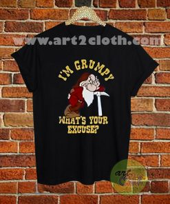 I'm Grumpy Dwarf Snow White Disney T Shirt