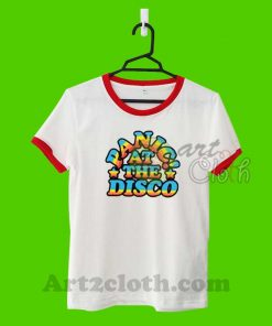Panic At The Disco P!atd Rainbow Unisex Ringer T Shirt