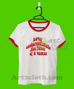 Power Of Women Unisex Ringer T Shirt