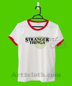 Stranger Things Unisex Ringer T Shirt