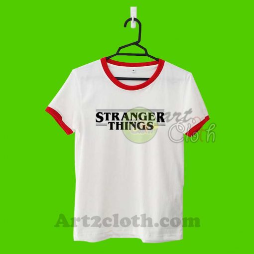 Stranger Things Unisex Ringer T Shirt