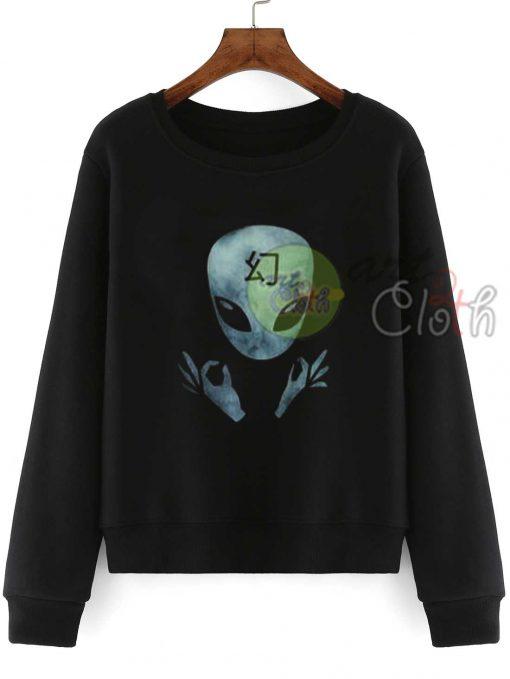 Alien Funky Sweatshirts
