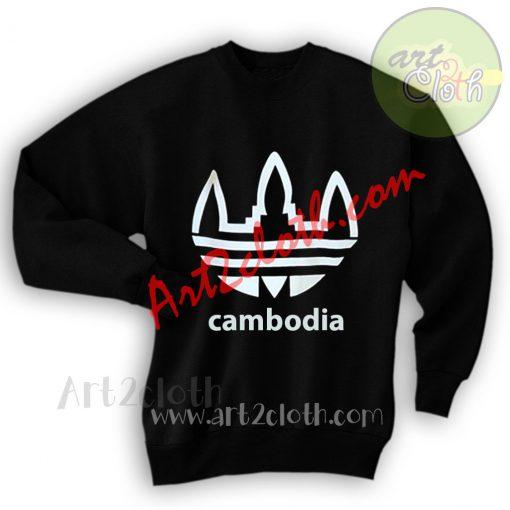 Cambodia Adidas Inspiride Sweatshirts