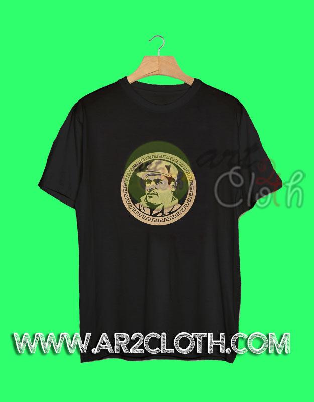 El chapo guzman currency t shirt for Chapo guzman shirt brand