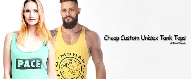 Cheap Custom Unisex Tank Tops