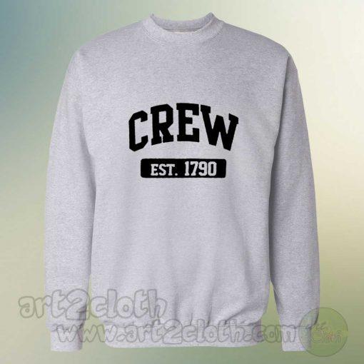 Crew Est 1790 Cheap Custom Sweatshirts