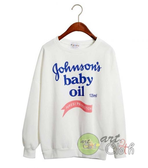 Johnson's Baby Oil Cheap Custom Sweatshirts