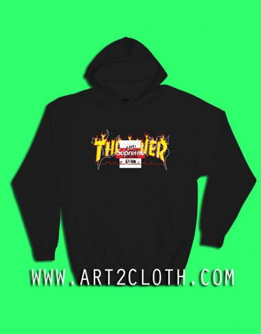 AntiSocial Thrasher Supreme Hoodie