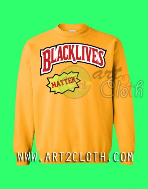 Black lives Matter Backwoods Style Sweatshirts