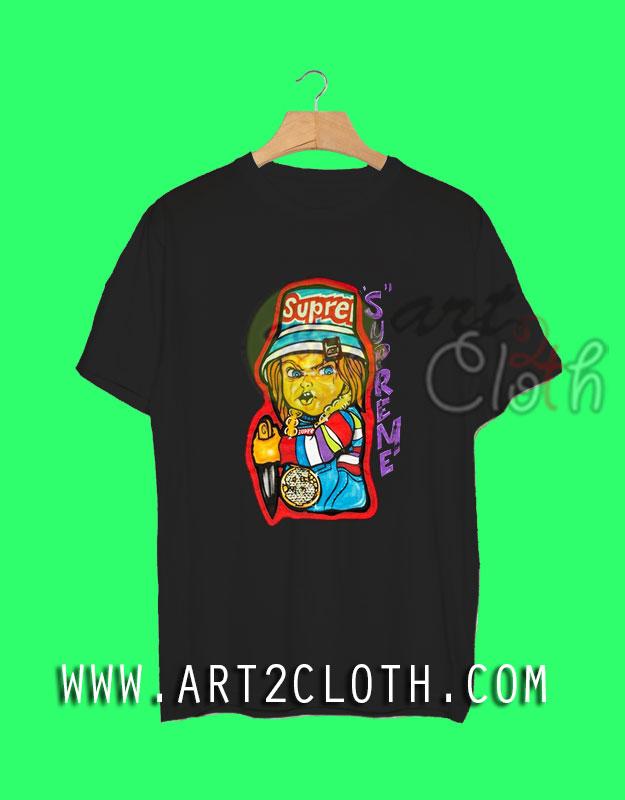 3582b04e Cheap Custom Unisex T-Shirt | Supreme Chucky T-Shirt