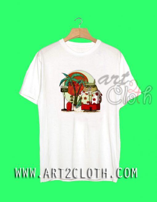 Summer My Neighbor Totoro T-Shirt