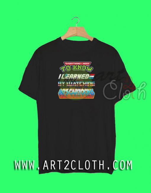 80's Education T-Shirt