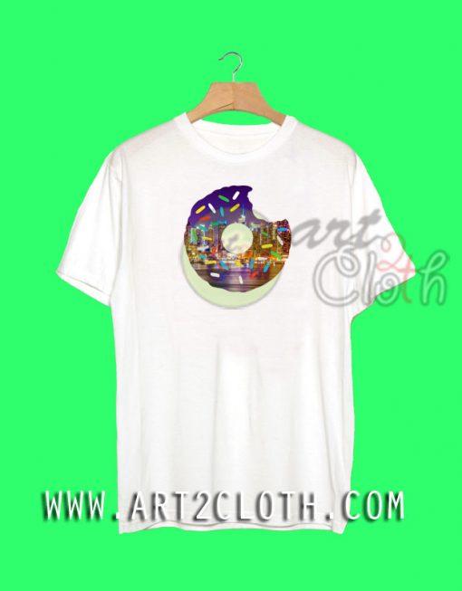 Donuts New York Night T-Shirt